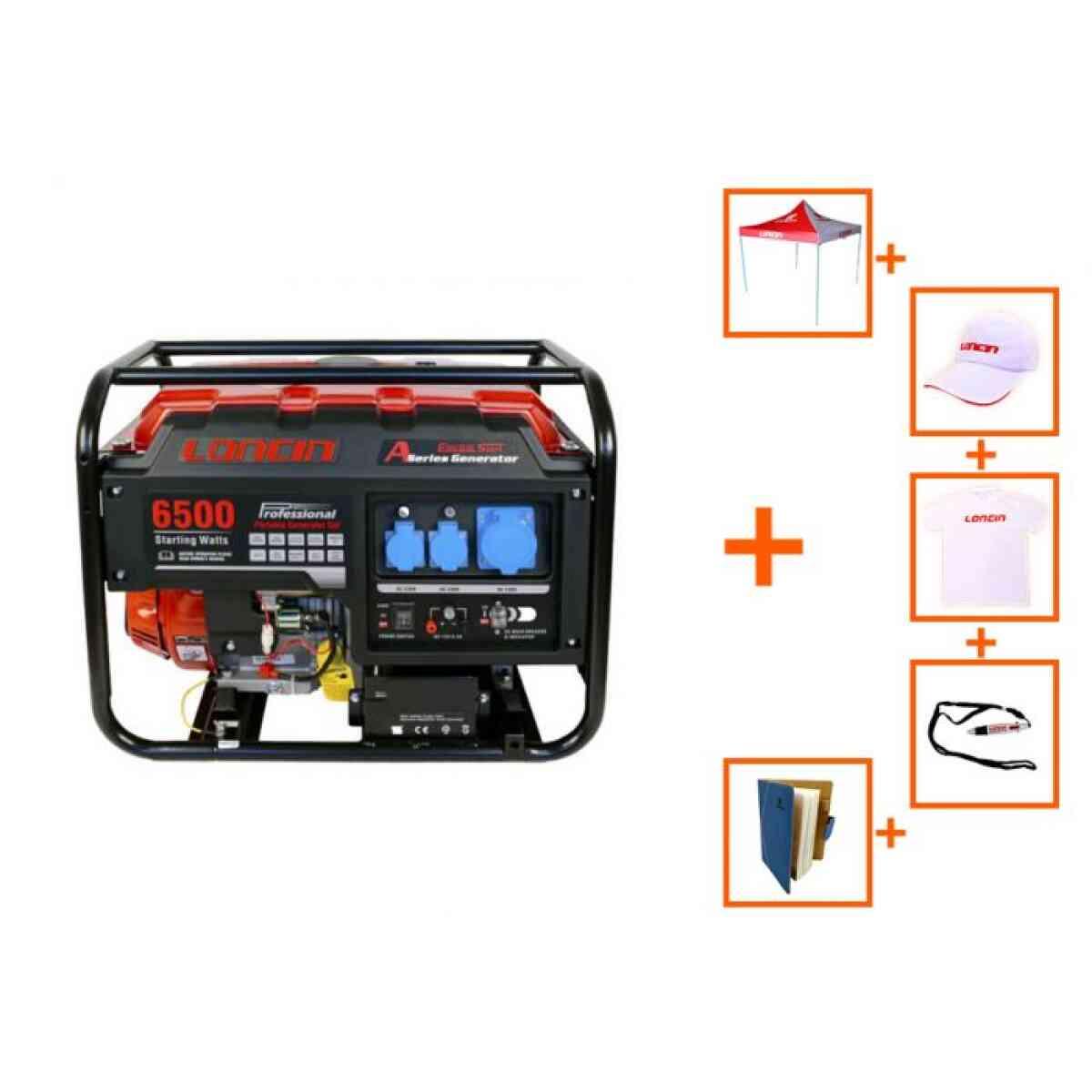 generator loncin 5 5 kw 220v a series promo loncin
