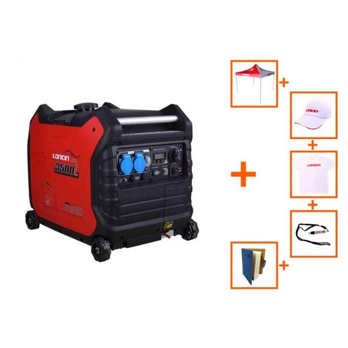 generator loncin inverter 3 5kw 220v cu baterie promo loncin 1