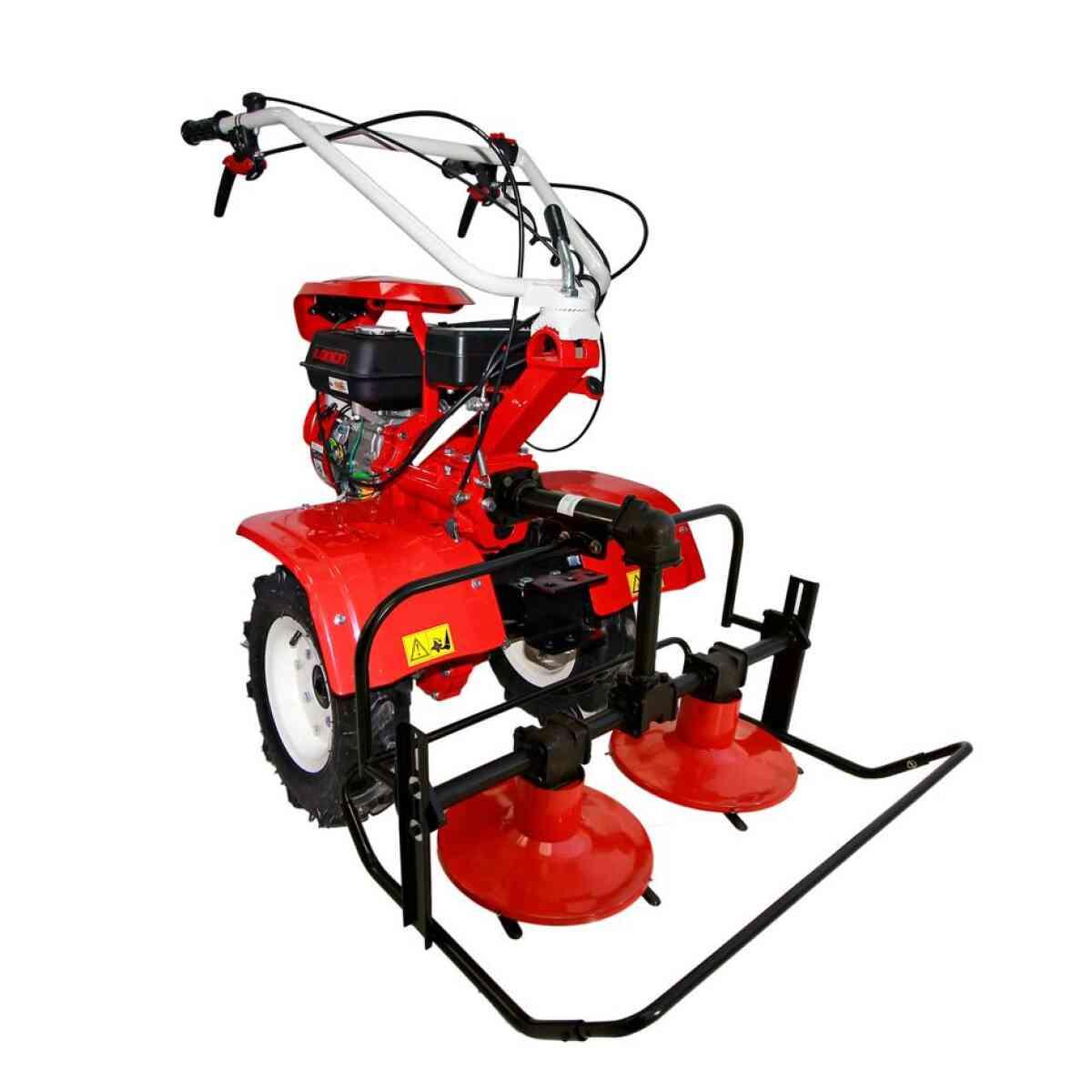 motocultor loncin lc850 7cp cu roti cositoare rotativa